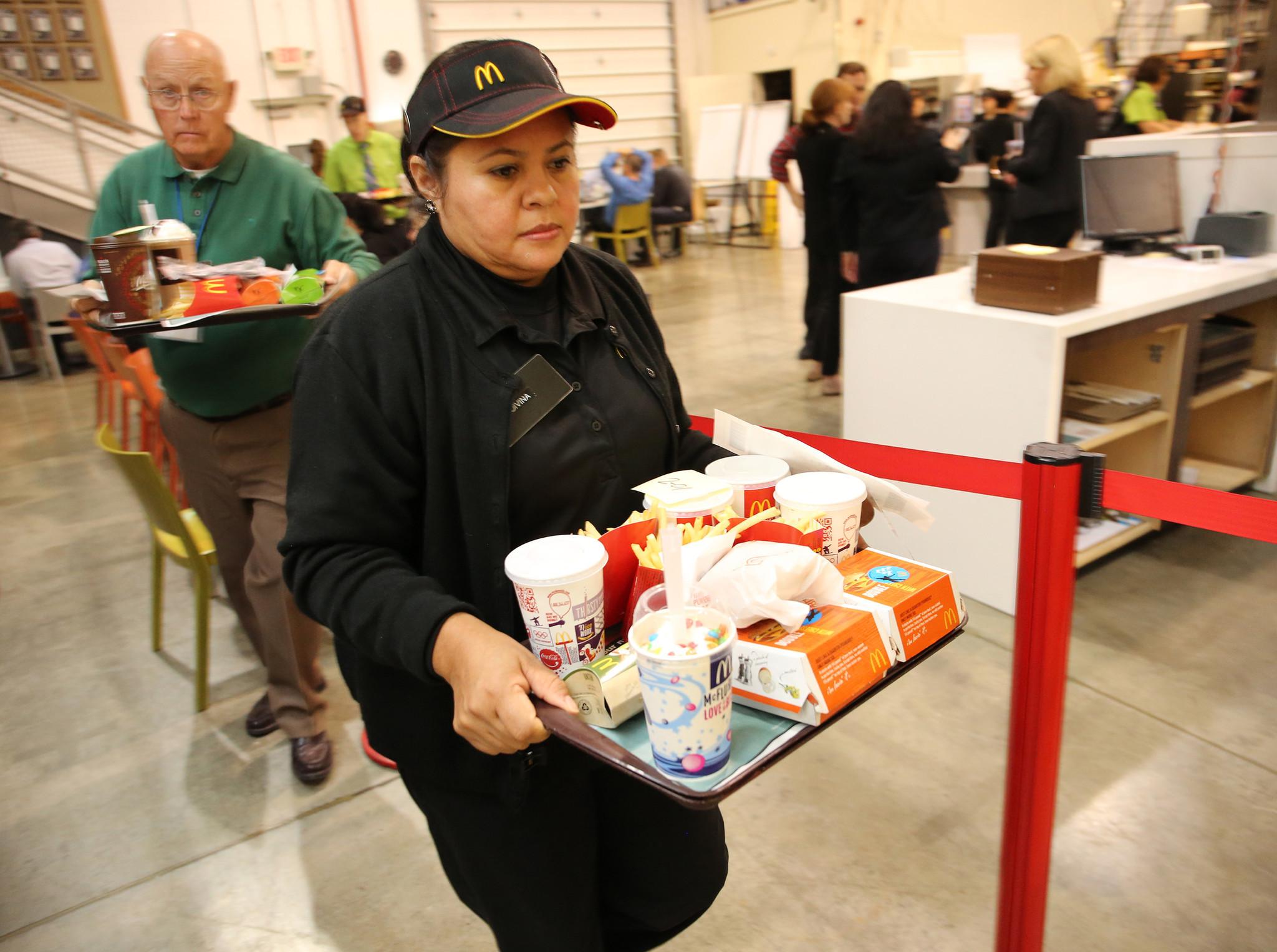 mcdonald s innovation center goal better service chicago tribune