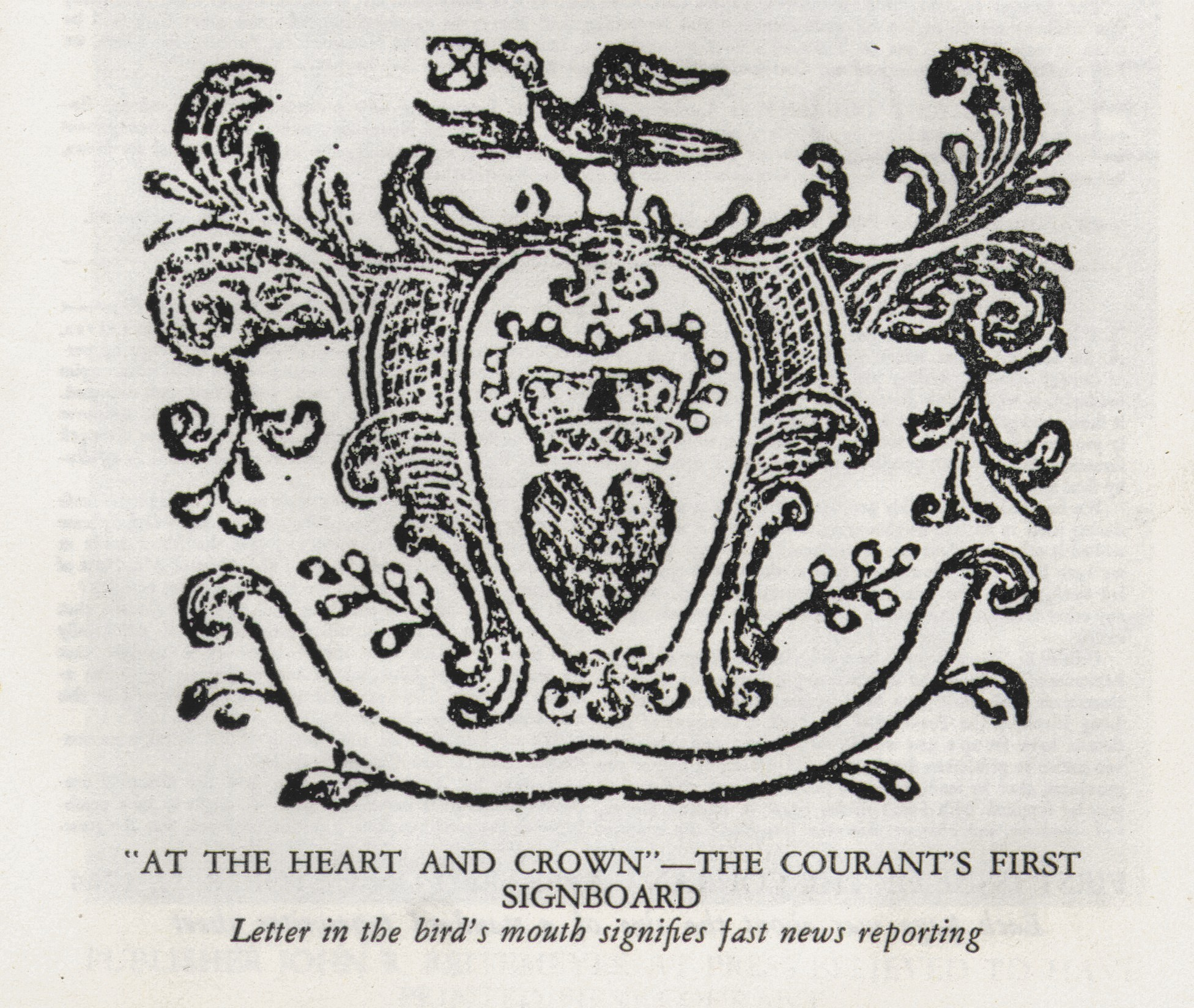 newspaper masthead october 1765