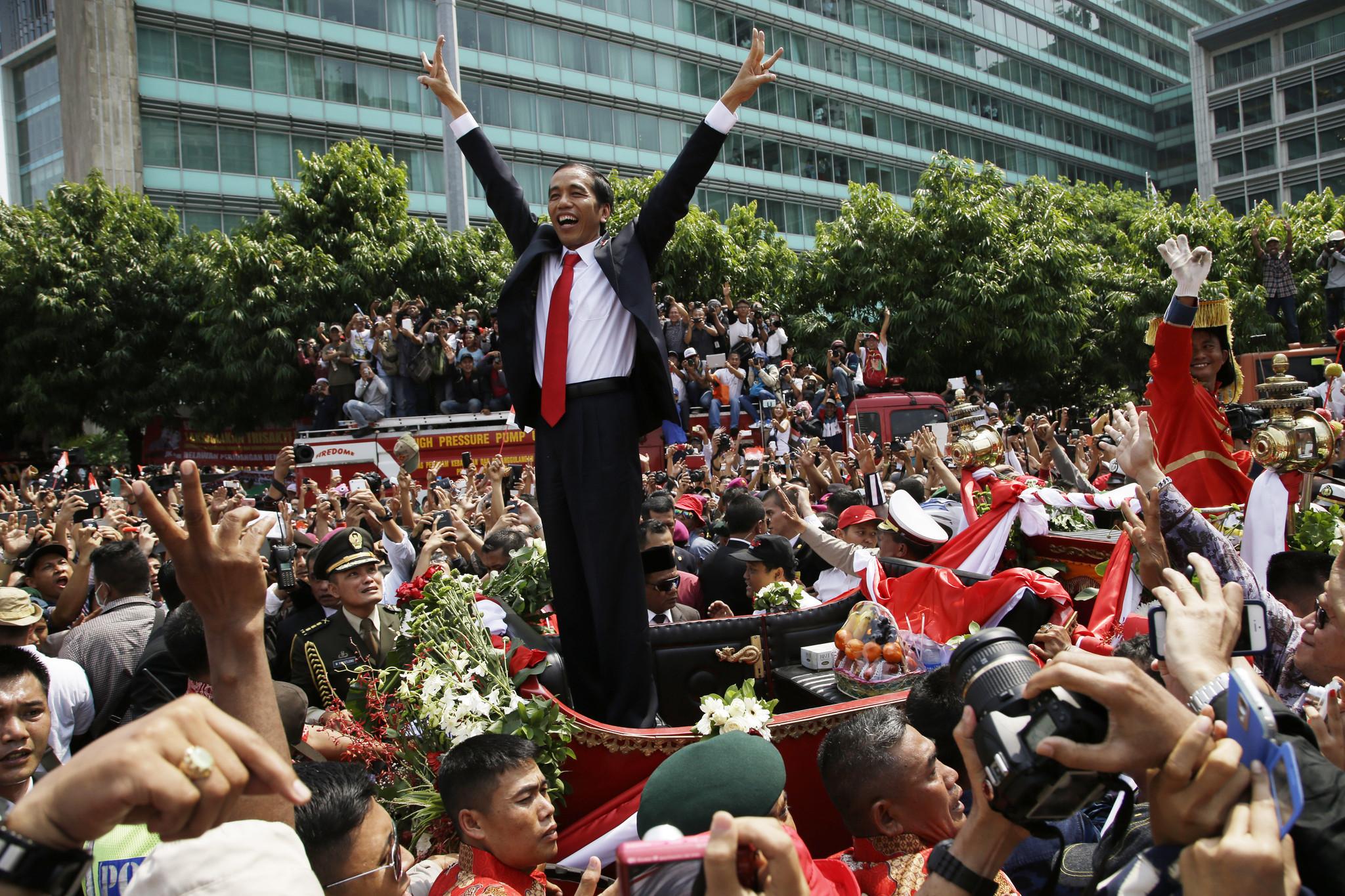 Joko Widodo sworn in as Indonesia's president