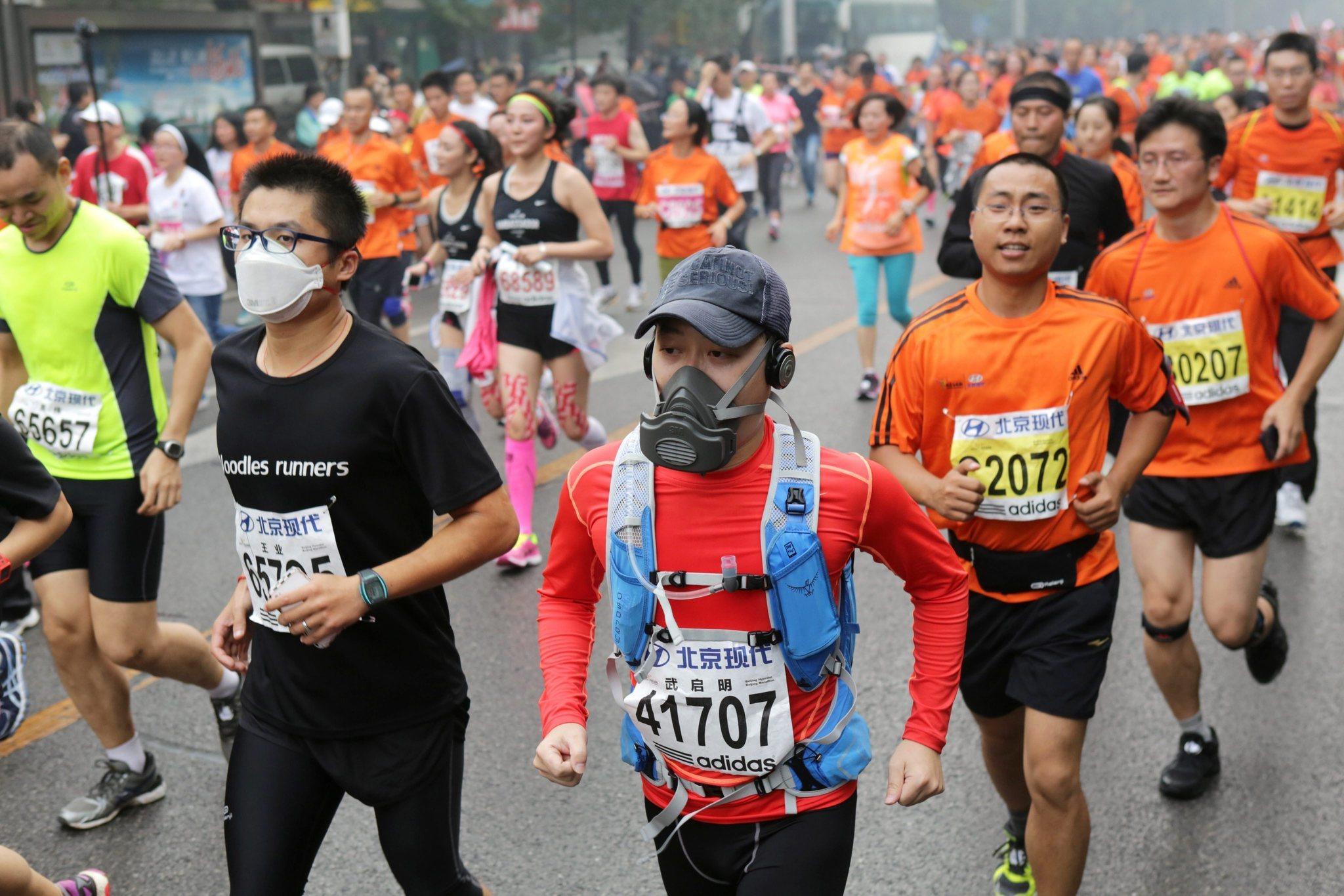 Smog chokes Beijing marathon, but should be gone for APEC