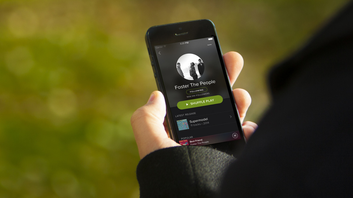 Spotify now offering family plans