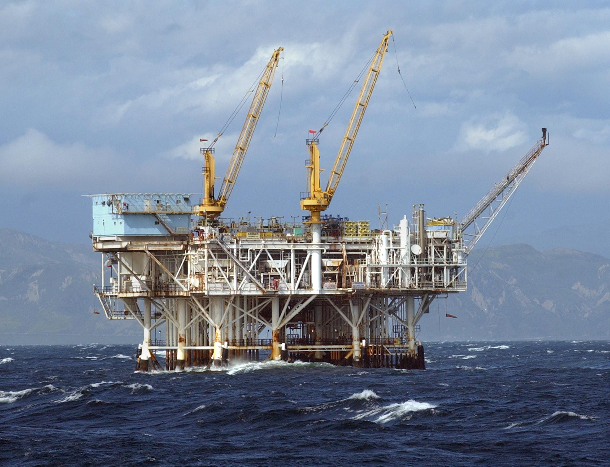 California Offshore Oil Platforms : The good news about offshore oil rigs california