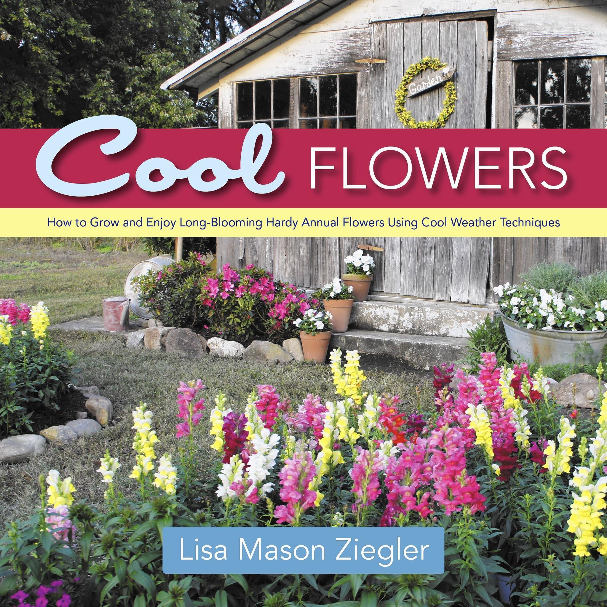 Newport News flower gardener Lisa Mason Ziegler releases her latest in gardening books.