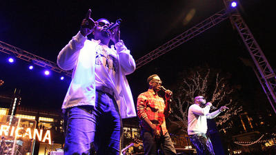 Genres collide in Boyz II Men performance at the Americana