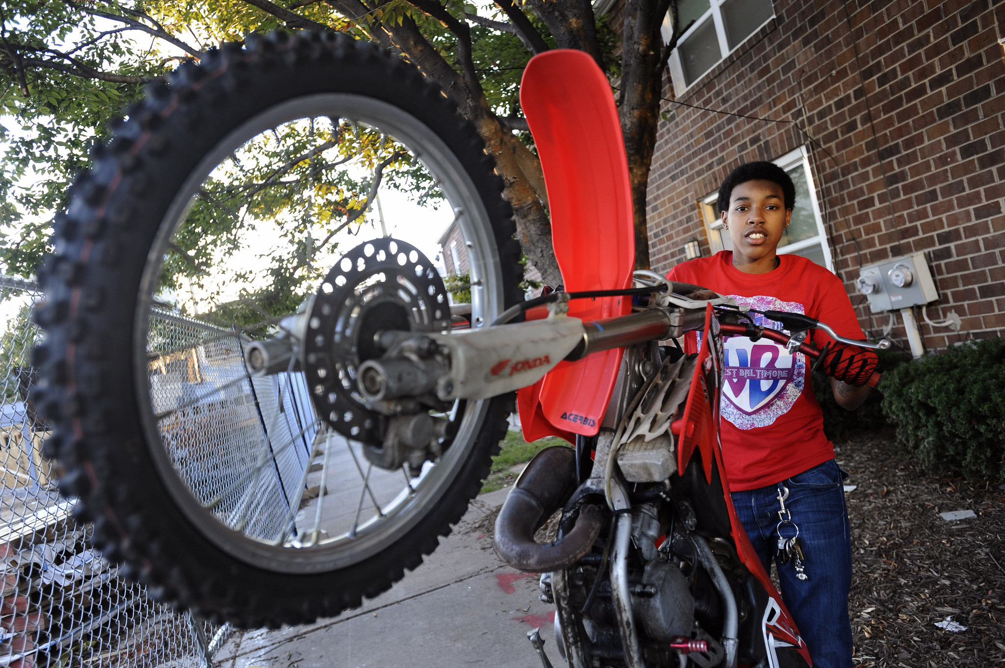 In Popular But Illegal Baltimore Dirt Bike Scene Female Rider