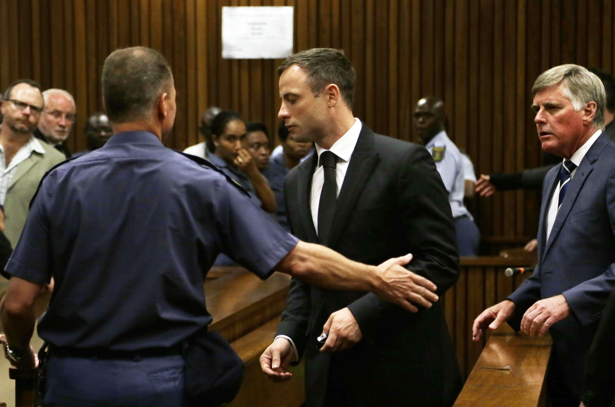 Oscar Pistorius sentence brings quick reaction from sports officials