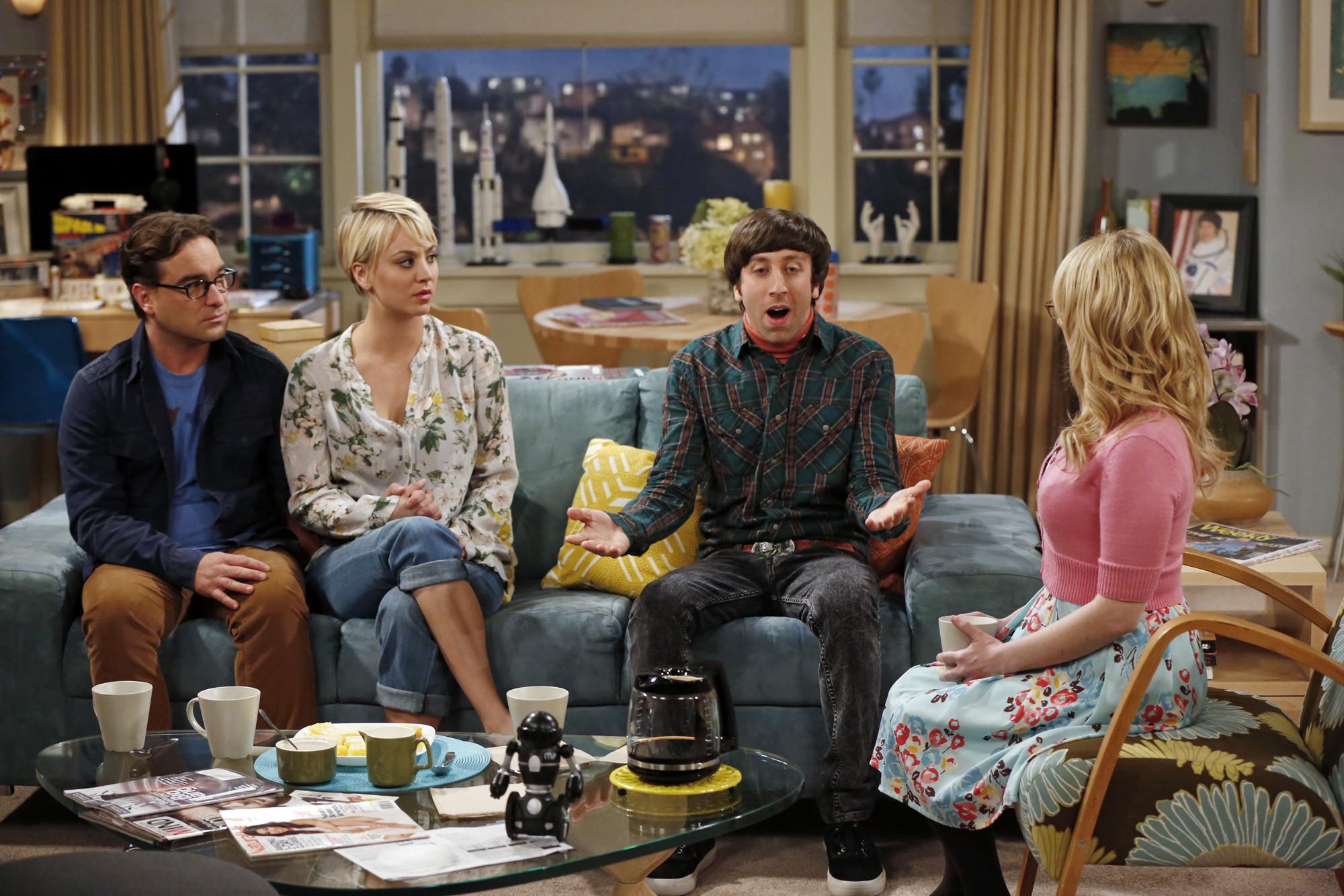 TV ratings: 'Big Bang Theory' wins night; 'The Voice' drops