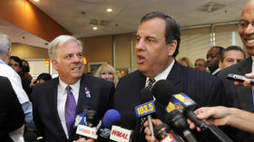 Christie stumps for Hogan in Bethesda