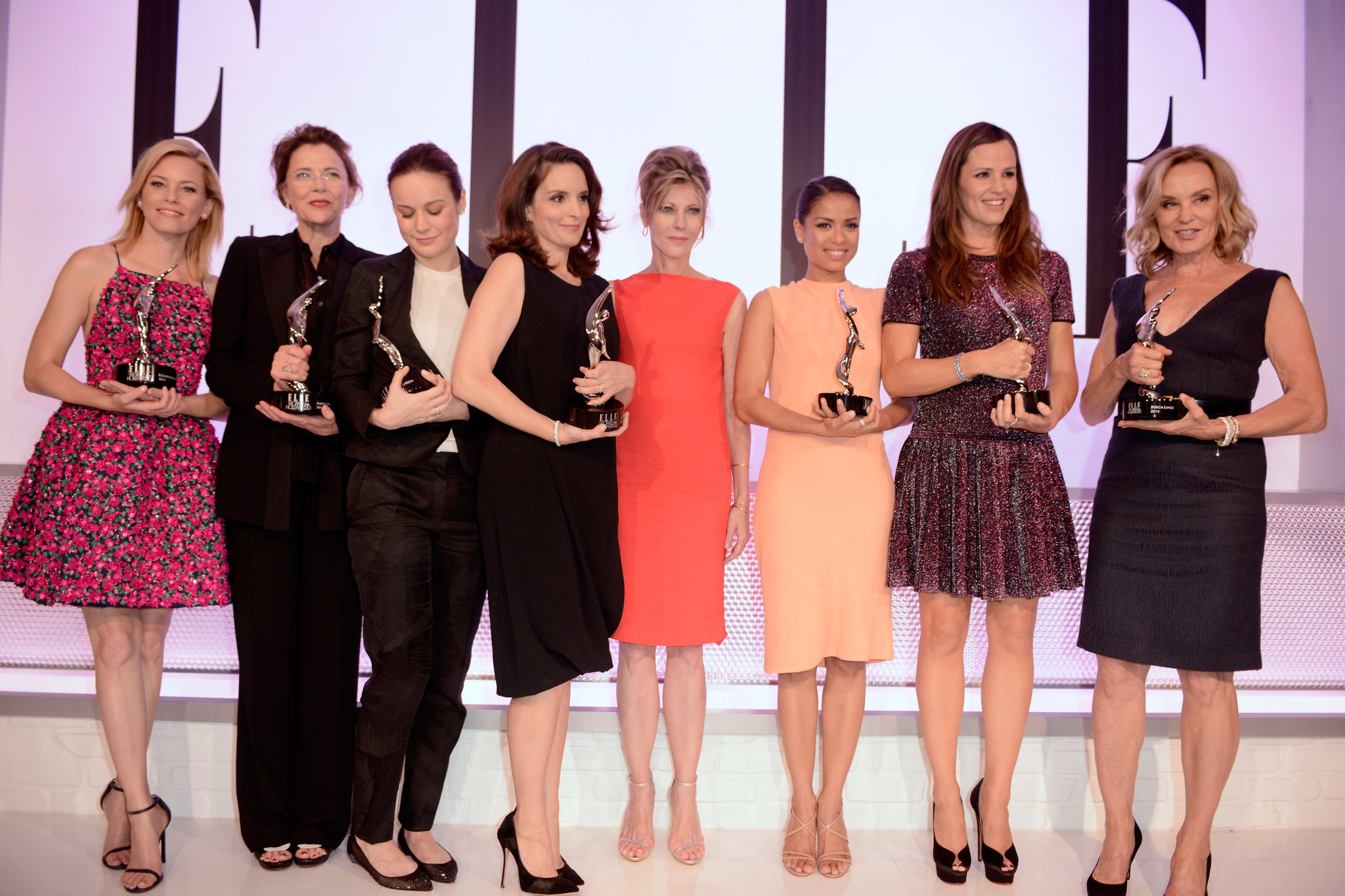 Elle Women in Hollywood Awards honor Garner, Fey, Banks, Bening, Lange