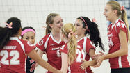 Photo Gallery: CV vs. Burroughs girls volleyball