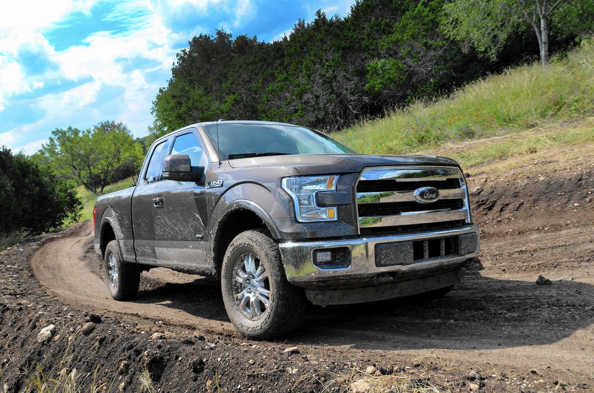 ford takes big gamble with new aluminum f 150 orlando sentinel. Black Bedroom Furniture Sets. Home Design Ideas