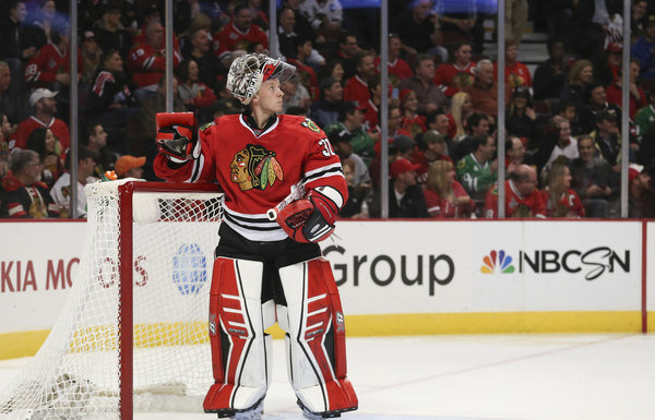 Antti Raanta called upon sooner than expected