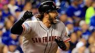 Giants hammer Royals, 7-1, in World Series opener