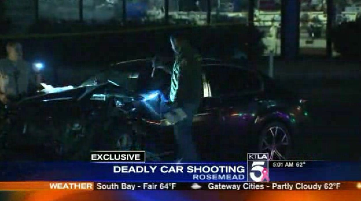 Man dies in Rosemead after being shot while driving