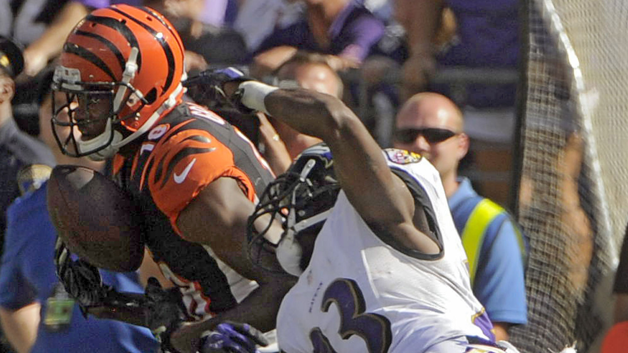Ravens anticipating Bengals wide receiver A.J. Green playing Su…
