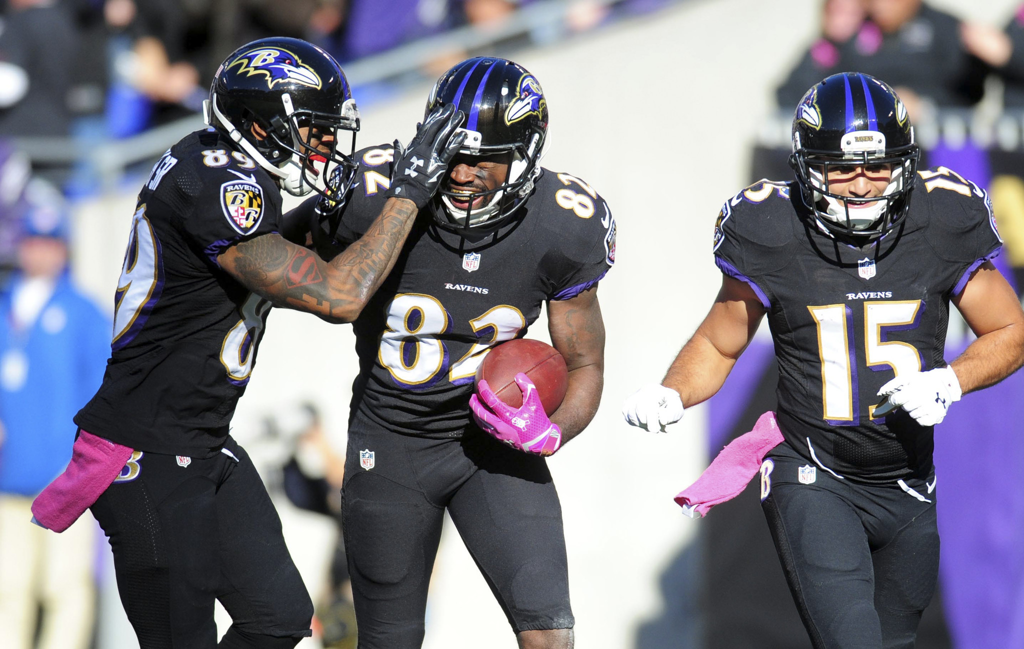 After overhaul, different wide receivers leading Ravens' succes…