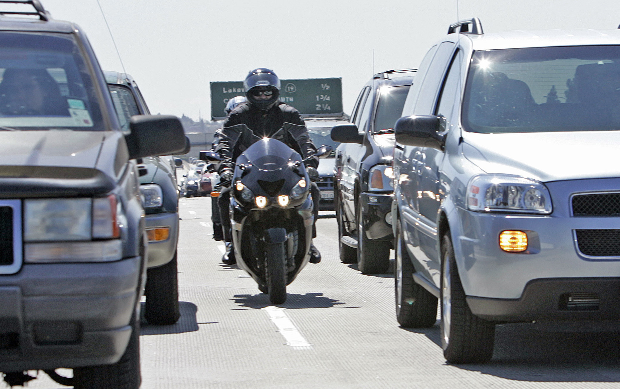 Lane-splitting is safe, but with speed comes danger, study finds