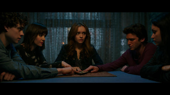 "<i> * (out of four)</i><br> <b>What we said:</b> ""Combines the excitement of annoying horror cliches with the fun of watching other people play board games."" <i>-- Matt Pais </i><br><br><a target=""_blank"" href=""http://www.redeyechicago.com/entertainment/movies/redeye-ouija-board-game-movie-review-20141021,0,1105891.column""<b>Click here for our full review</a>"