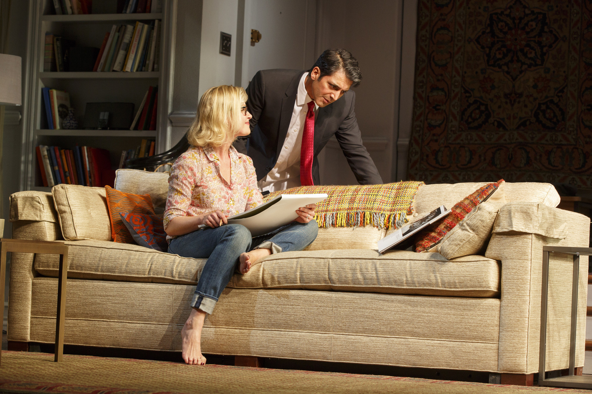 BROADWAY REVIEW Disgraced at the Lyceum Theatre Chicago Tribune