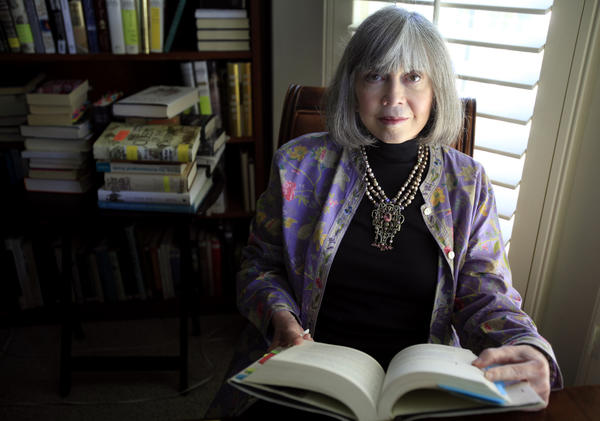Anne Rice, pictured in 2014, is seen at her home in Palm Desert. (Francine Orr / Los Angeles Times)