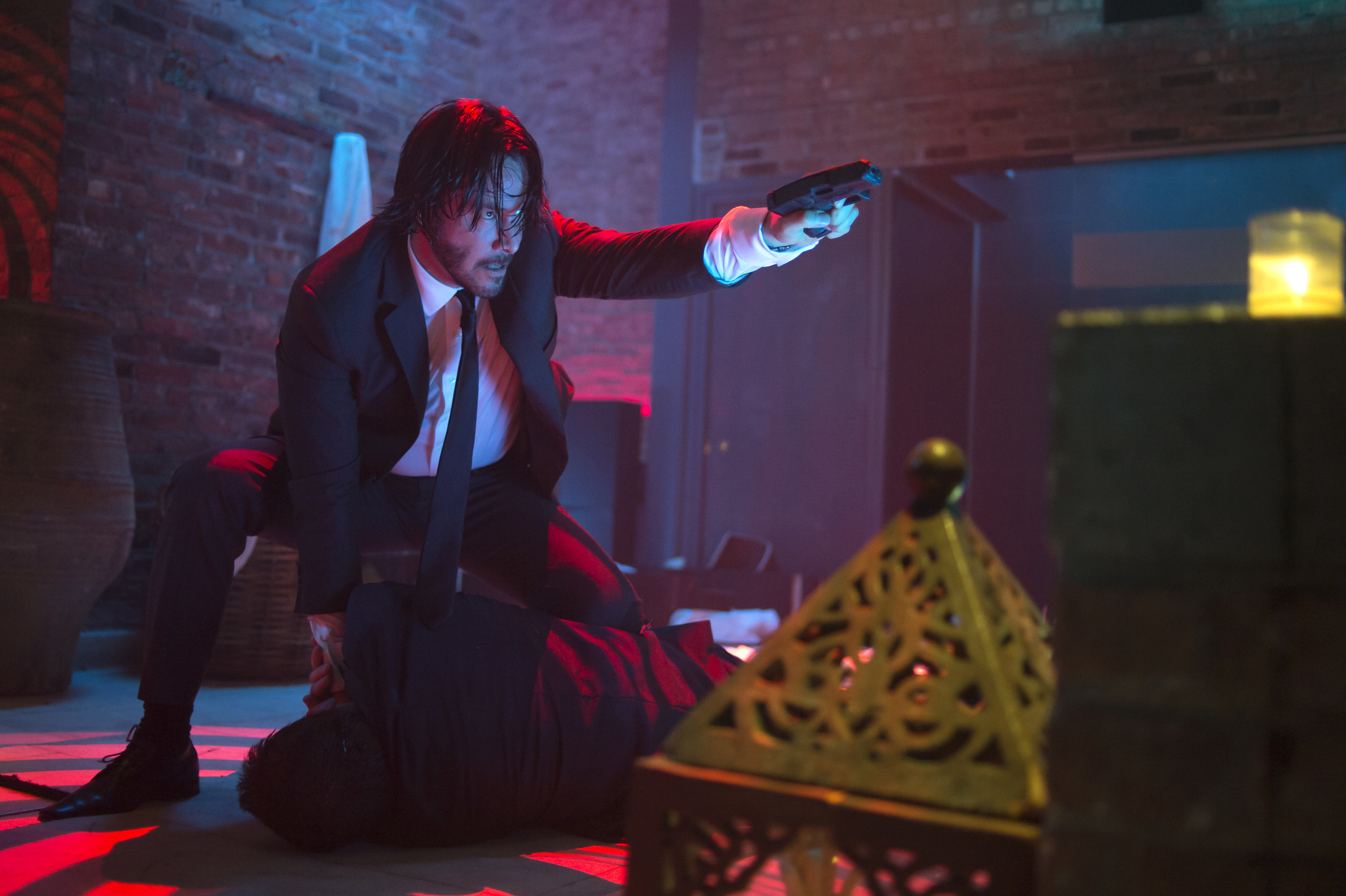 Keanu Reeves is on fire in 'John Wick,' reviews say