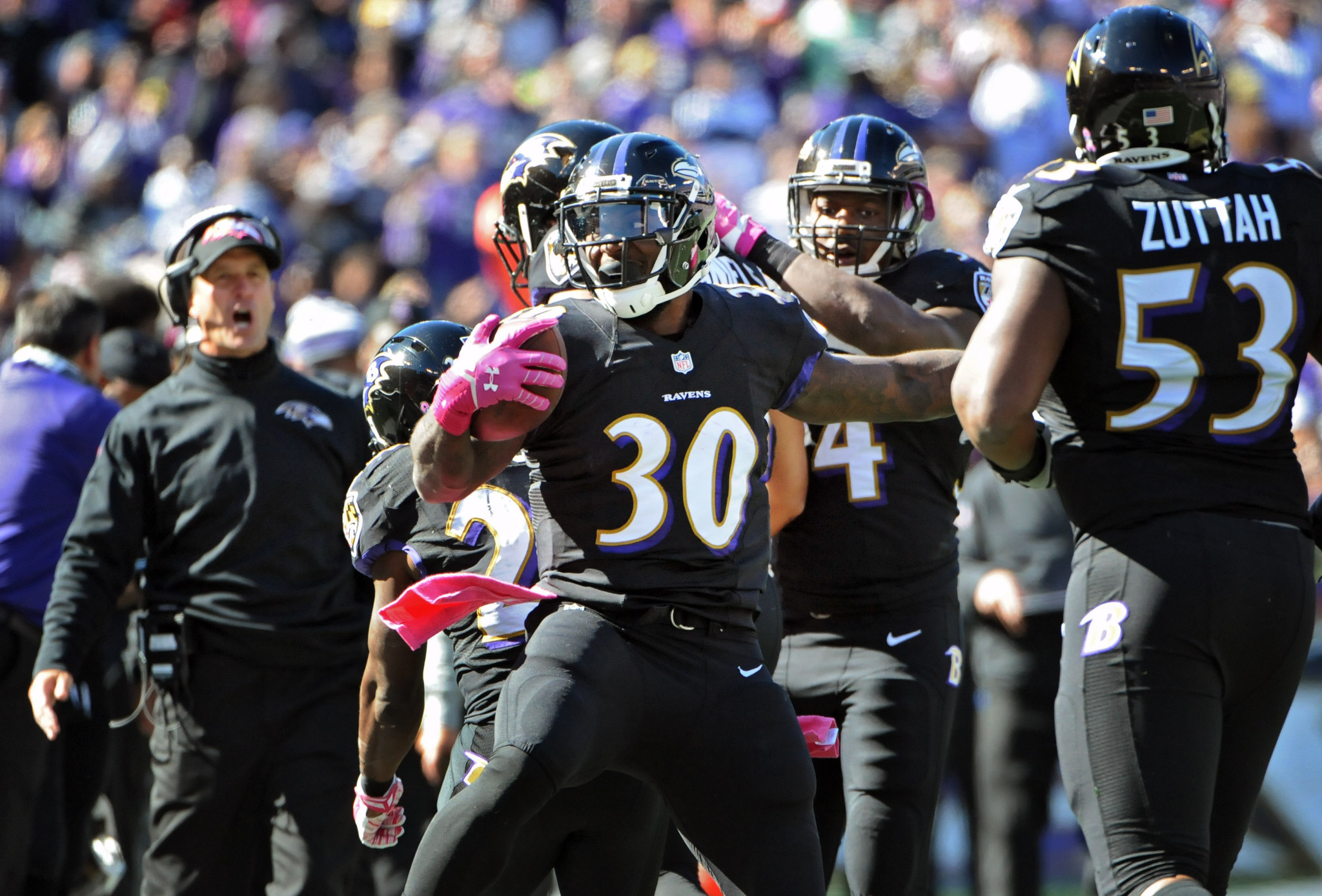Ravens running back Bernard Pierce says he's not frustrated by …