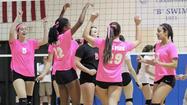 Photo Gallery: Burbank vs. CV girls volleyball