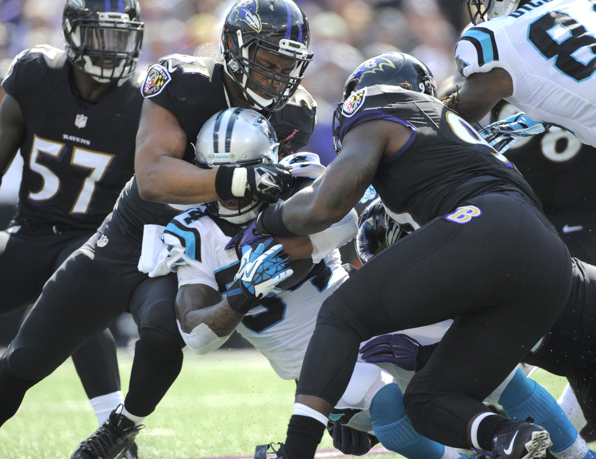 In red zone, Ravens' defense has put up stop sign this season