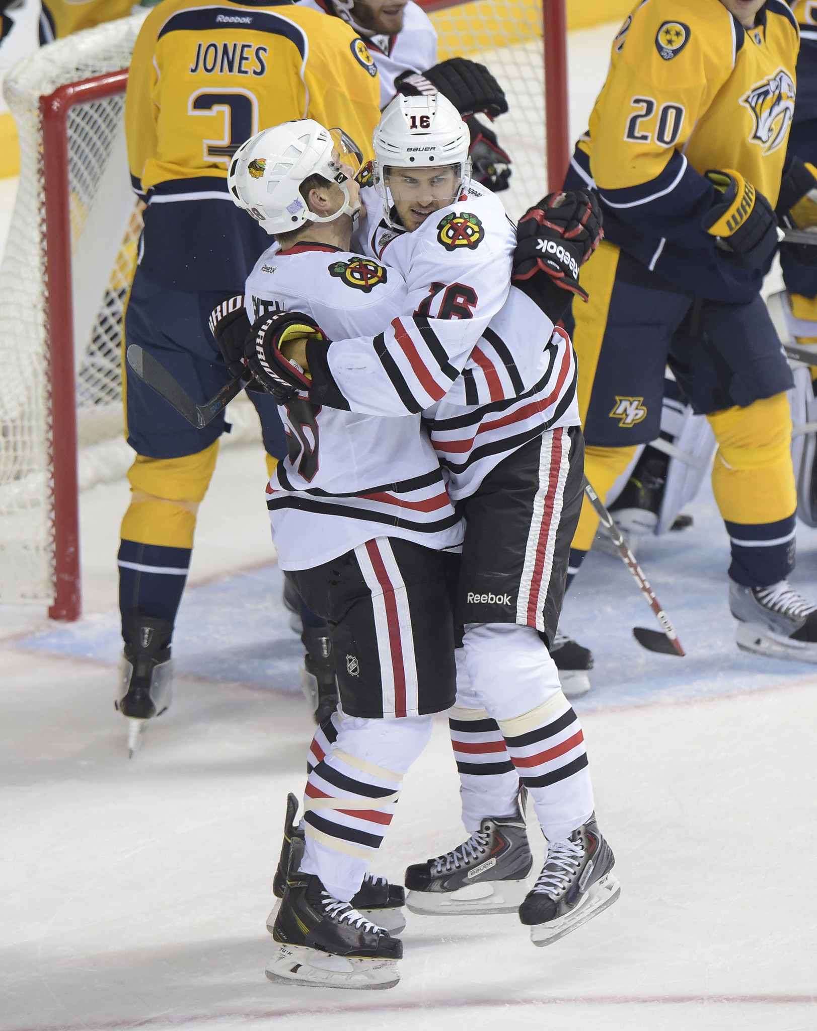 Thursday's recap: Predators 3, Blackhawks 2
