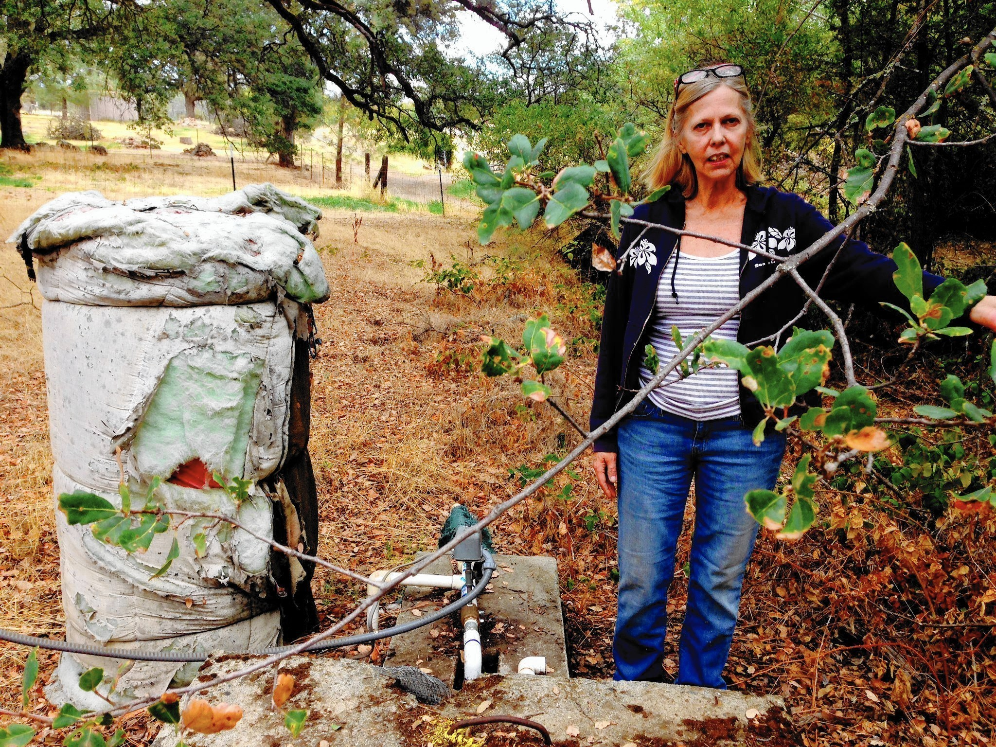 For Sierra resident, the well runs dry -- along with her options