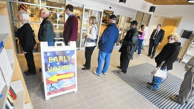 Polls open, early voting begins