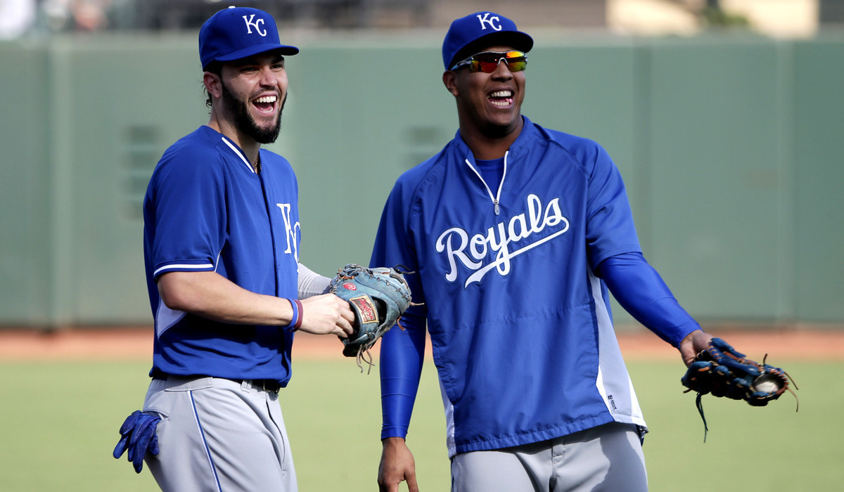 World Series notes: Royals get ready for their first game at AT&T Park