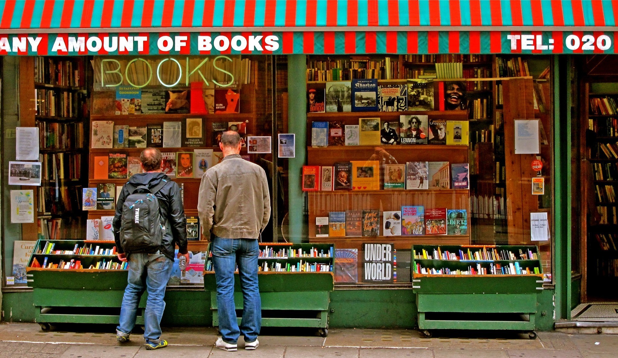 From Foyles to Hatchards, slip between the covers of London bookshops