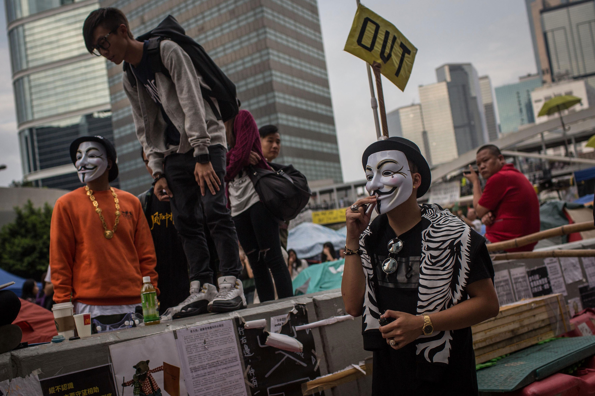 Hong Kong protest leaders to poll followers about officials' offer