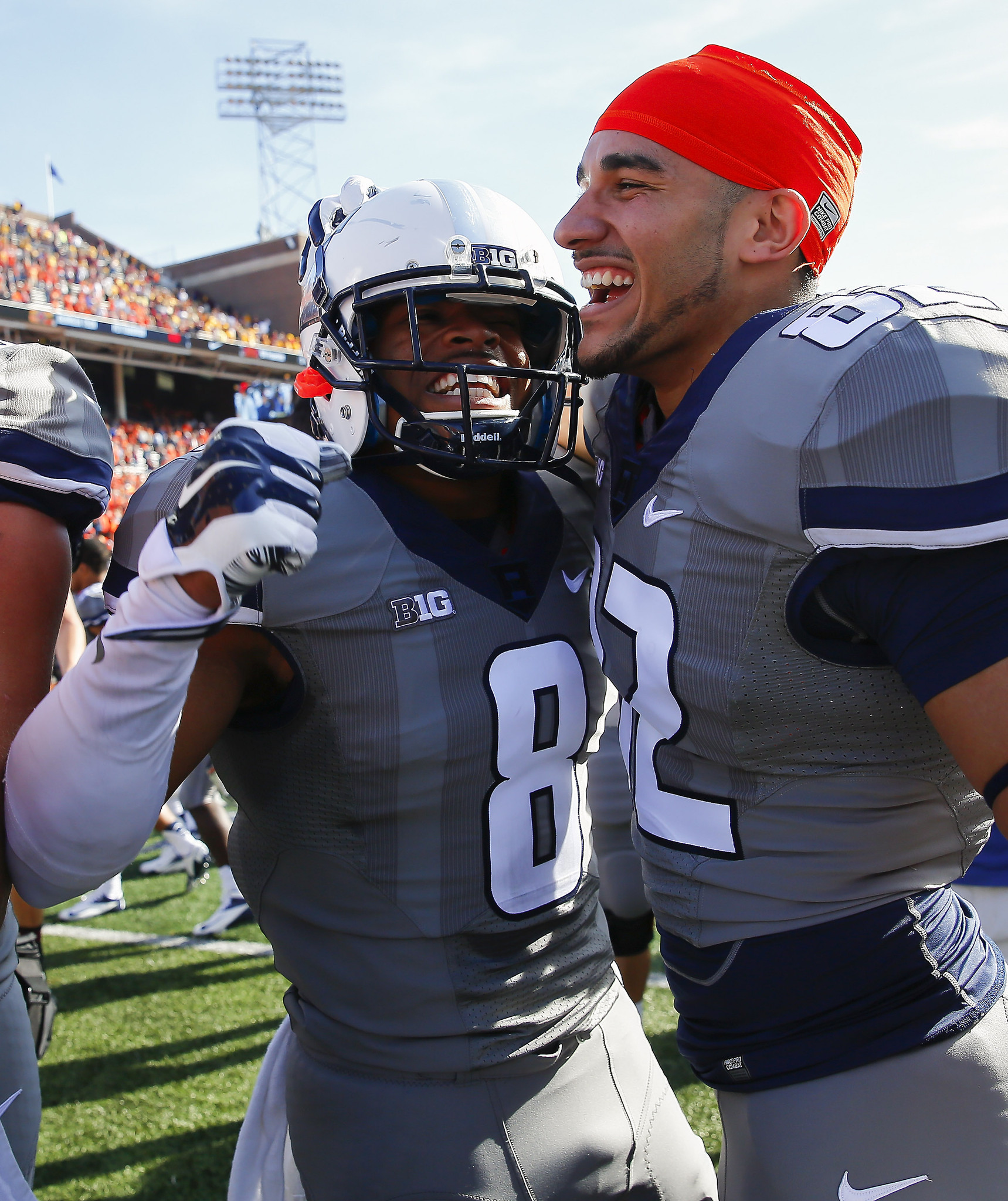Illinois hopes emotional win carries over to Ohio State game