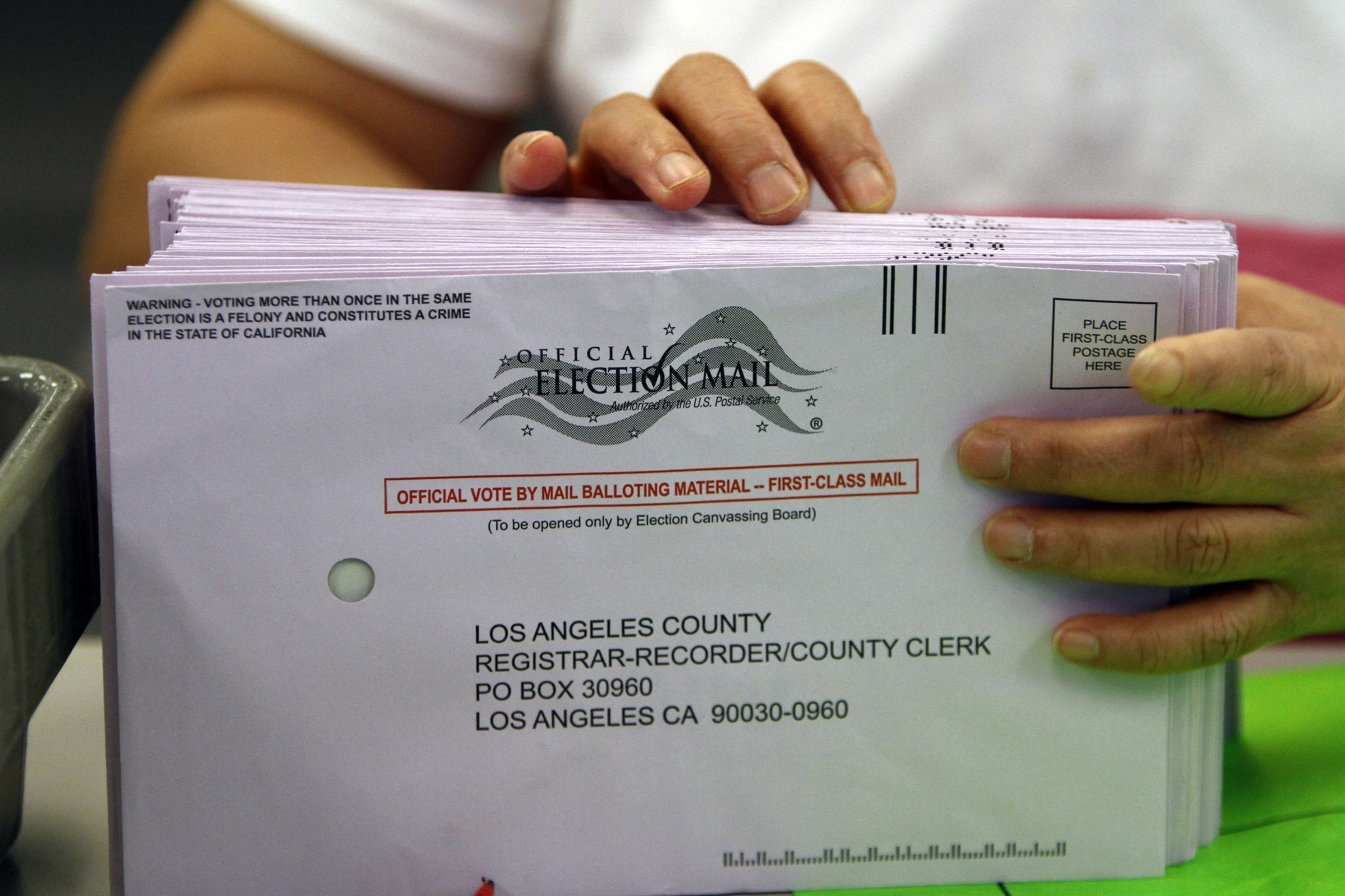 """an analysis of the california voters Of the area's 13 million early voters, nearly 351,000 did not vote in 2012—and 47 percent are hispanic """"the numbers are even worse for trump,"""" said smith."""