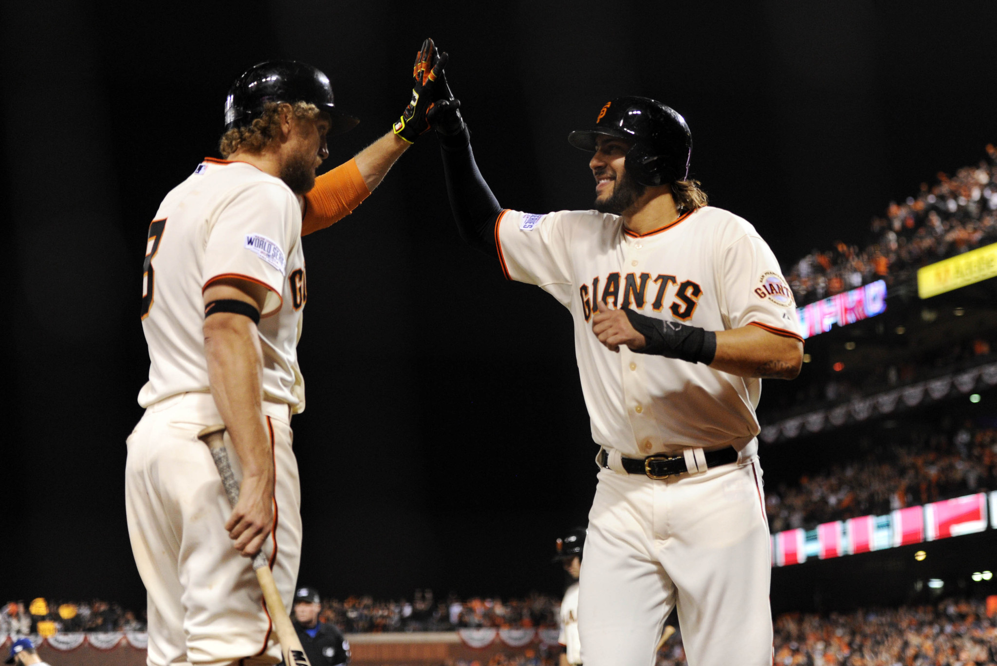 Bothersome tweet moot after Giants victory in Game 4
