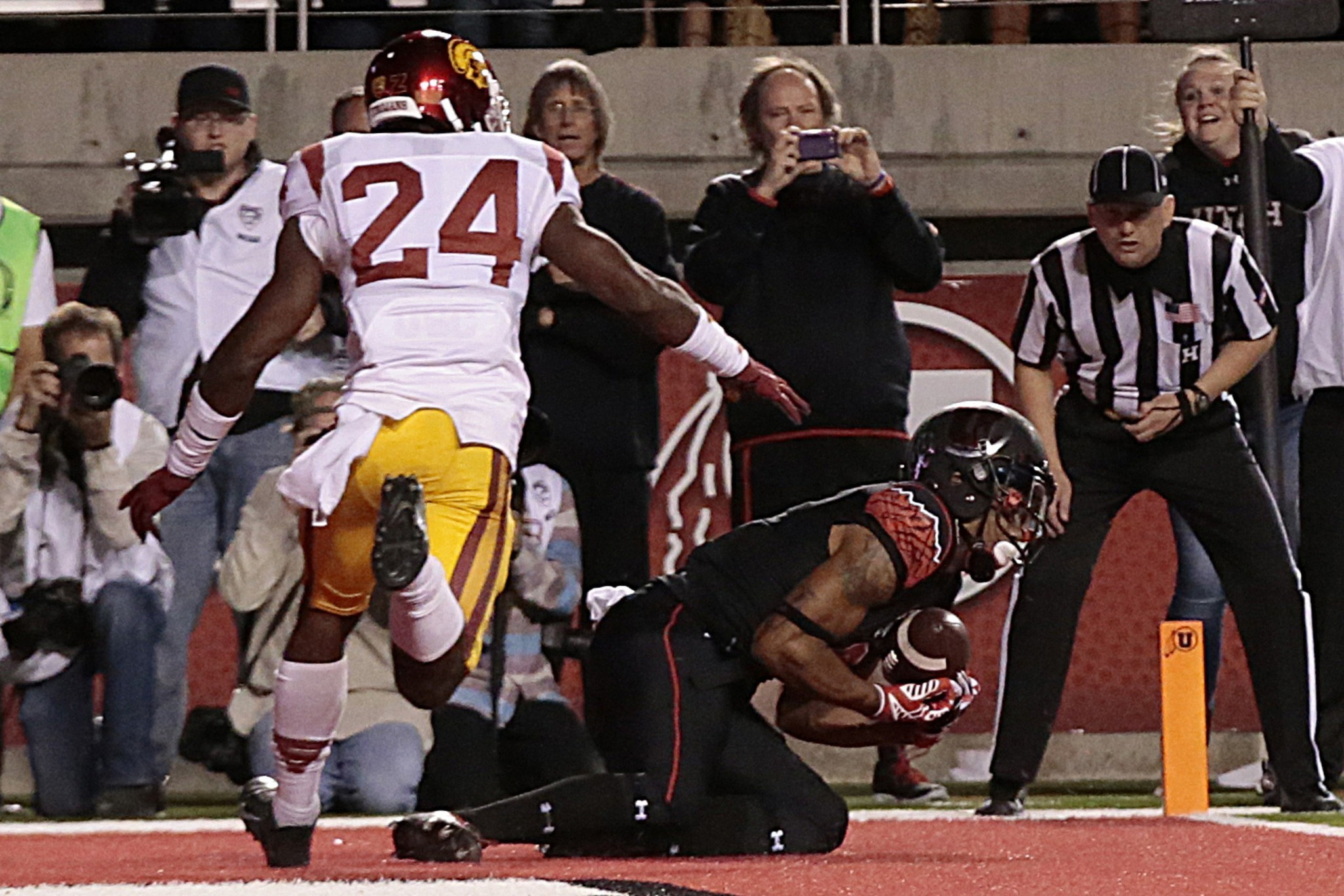 USC goes from weird start to lousy end in 24-21 loss to Utah