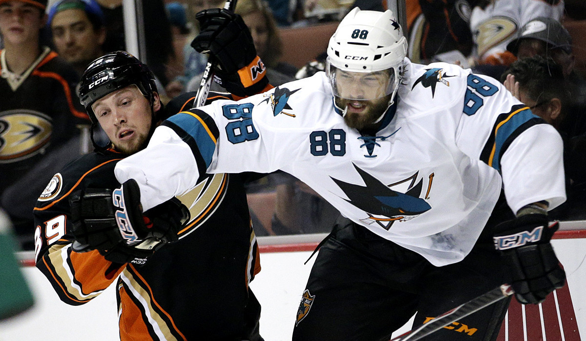 Ducks fall to San Jose in fight filled matchup The