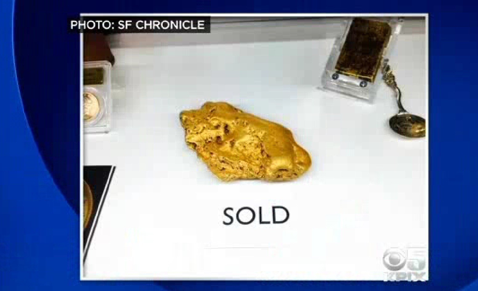 rare 6 pound gold nugget sells to anonymous california buyer la