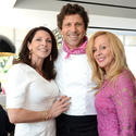 Lucy Chopek with Giovanni Rocchio, Executive Chef and owner of Valentino Cucina Italiana, and Colleen Paige
