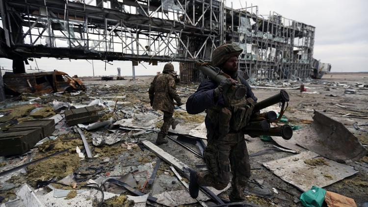 Battle for Donetsk airport