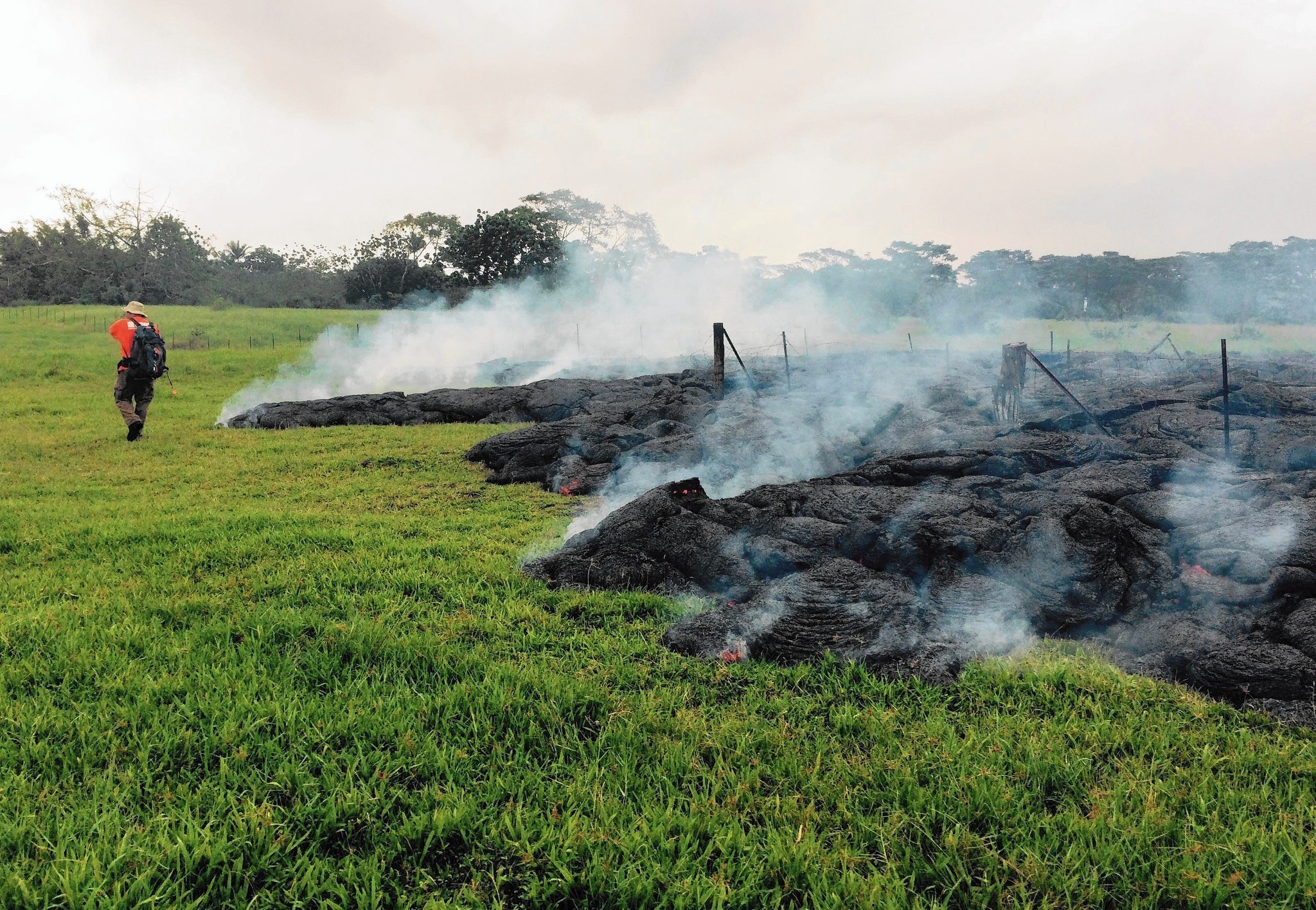 Big Island homes appear doomed by lava from Kilauea  LA Times