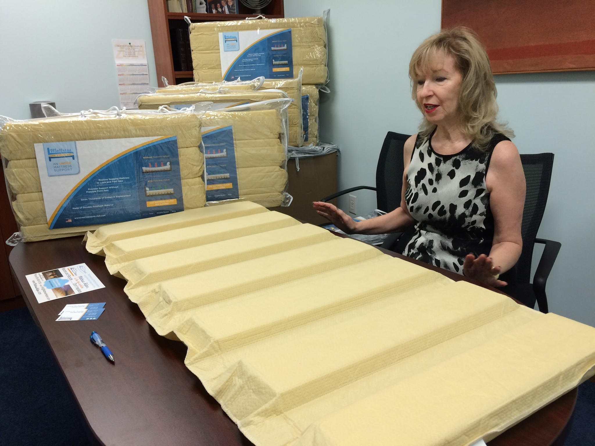 weston woman creates mattress helper sun sentinel