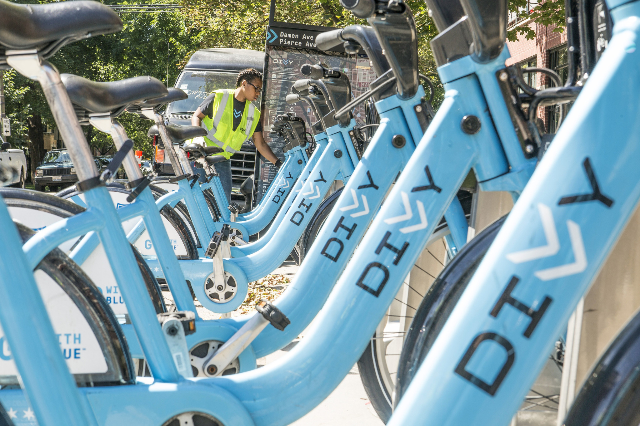 Bike Sales Chicago operates Divvy bike share