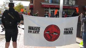 Jimmy John's workers fight for a union