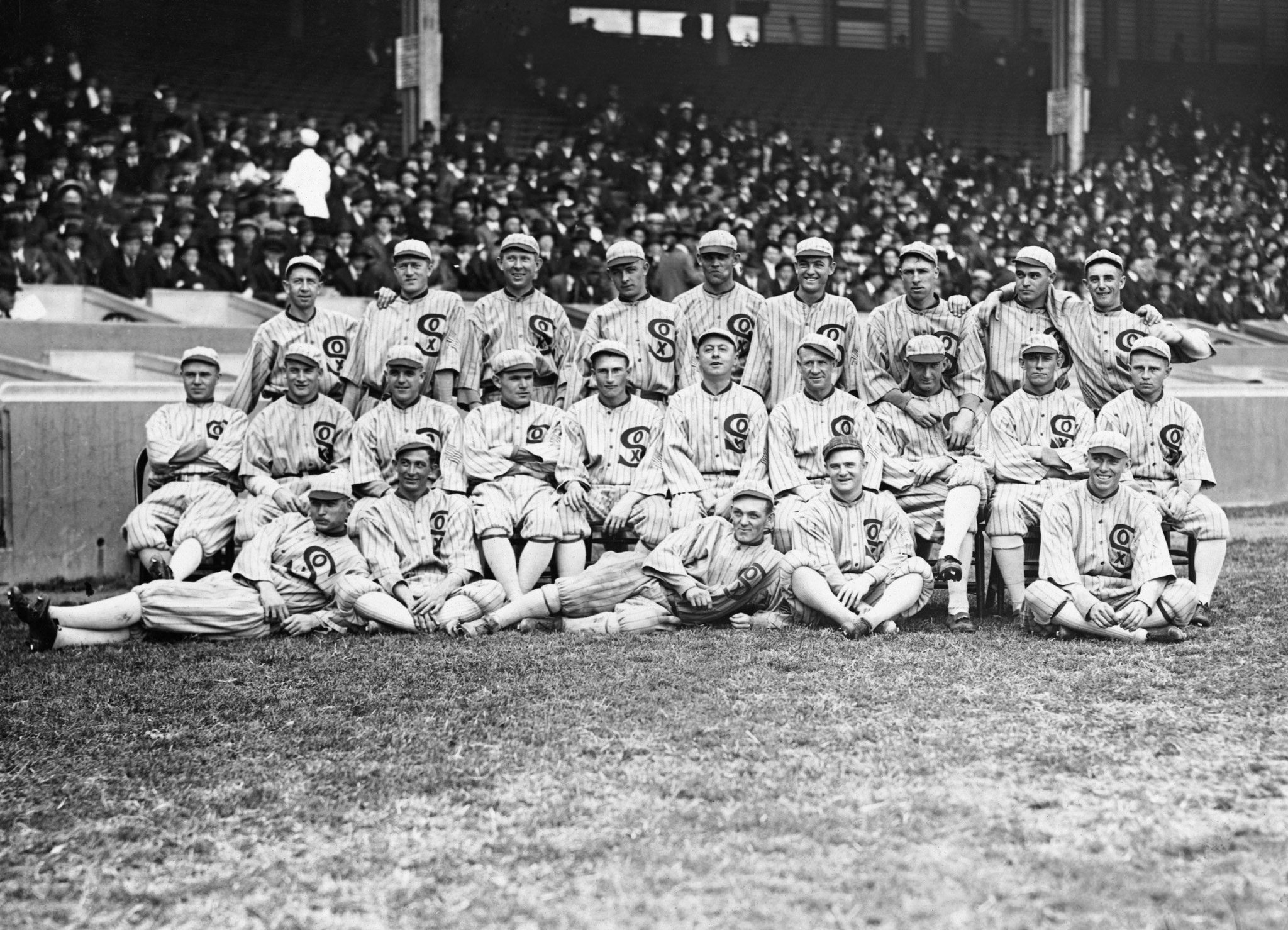 an analysis of the 1919 world series and the black sox A fixed world series casts a shadow over the national game the eight white sox players, known as the black sox, were the 1919 white sox--the white sox of.