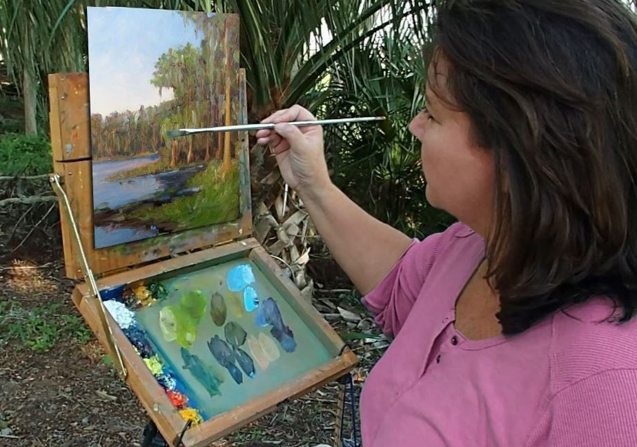 Tavares artist will do painting in every state park