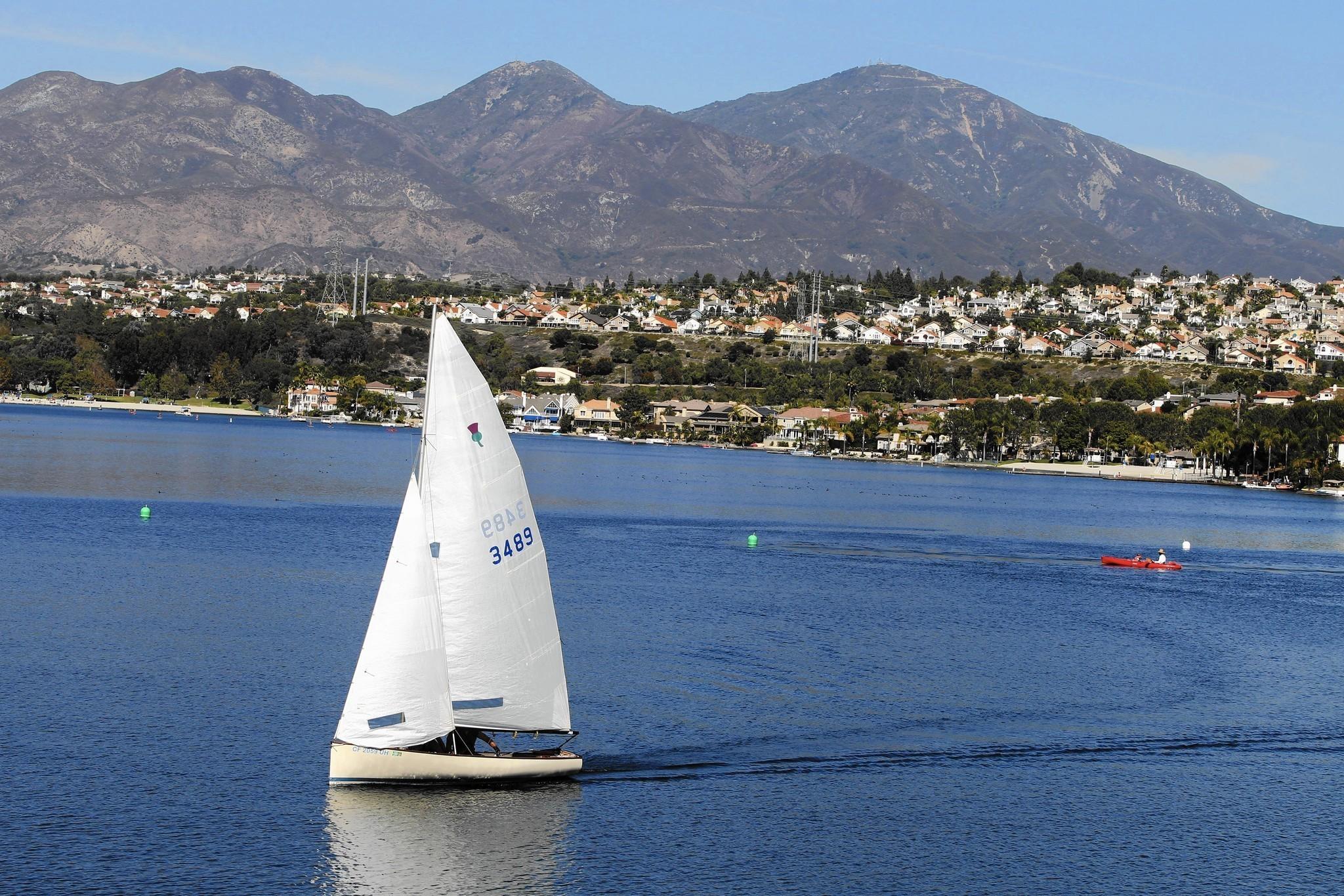 Lake Mission Viejo isn't feeling California drought — yet