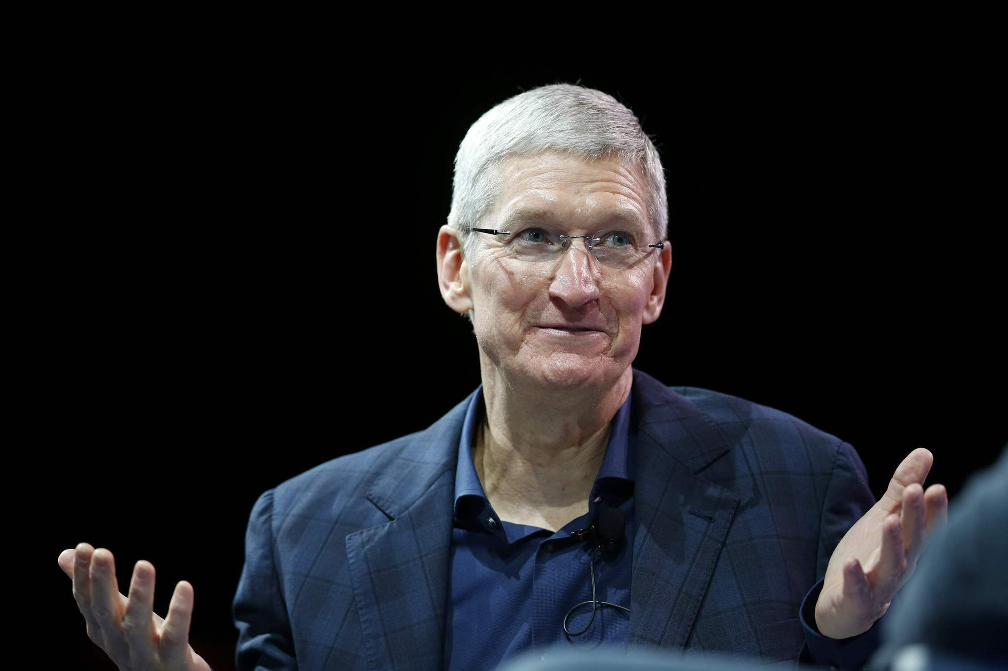 Apple's Tim Cook says he is 'proud to be gay'